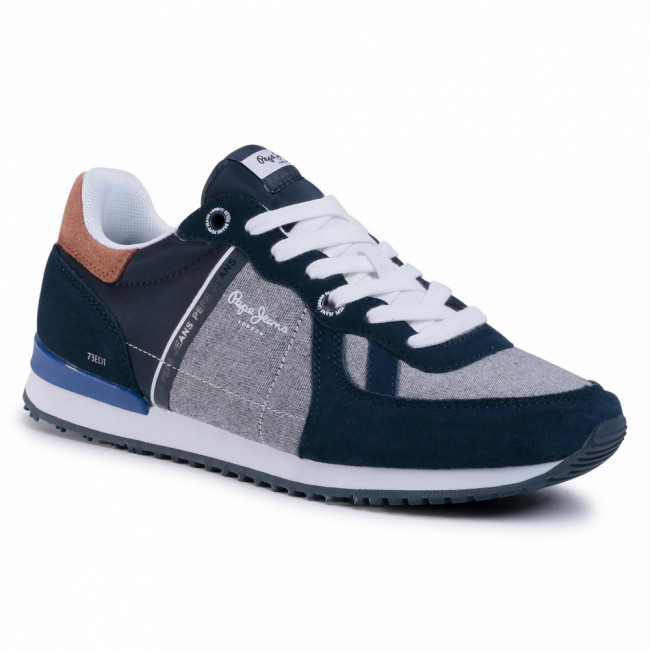 Sneakersy PEPE JEANS - TInker PMS30613  Midnight 528