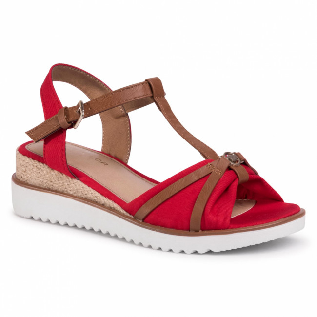Espadrilky TOM TAILOR - 809290400 Red