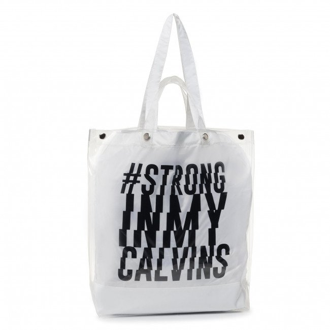 Kabelka CALVIN KLEIN PERFORMANCE - Strong Tote Bag 0000PD0124 100