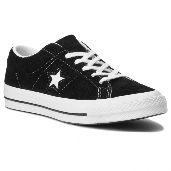 Tenisky CONVERSE - One Star Ox 158369C Black/White/White