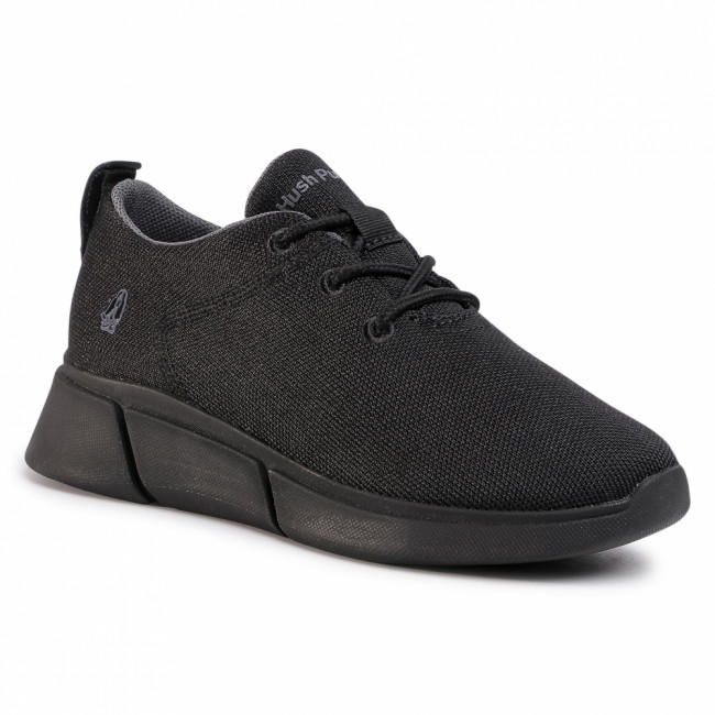 Sneakersy HUSH PUPPIES - Makenna Laceup HW06599 Black Heathere/Dark Os 005