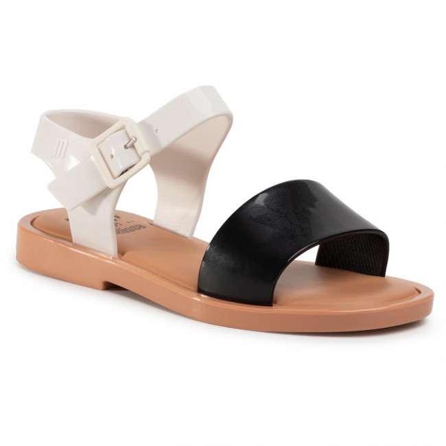Sandále MELISSA - Mel Mar Sandal Inf 32690 Black/White/Brown 52909