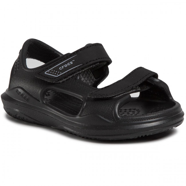 Sandále CROCS - Swiftwater Expedition Sandal K 206267 Black/Slate Grey