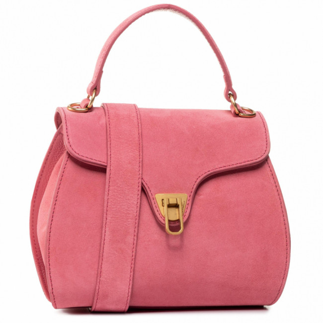 Kabelka COCCINELLE - FAB Marvin Suede E1 FAB 55 01 01  Bouganville P39