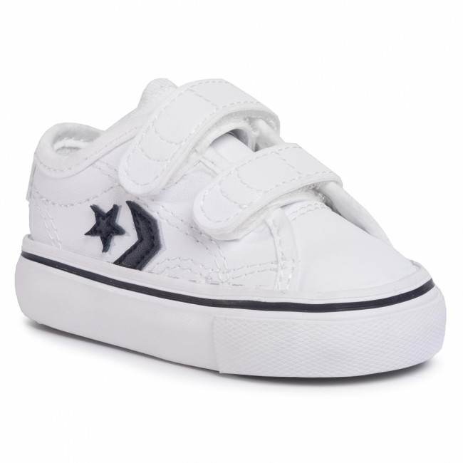 Sneakersy CONVERSE - Star Replay 2V Ox 767218C White/Obsidian/White