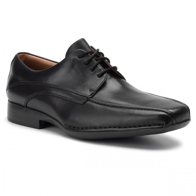 Poltopánky CLARKS - Francis Air 203526517 Black Leather