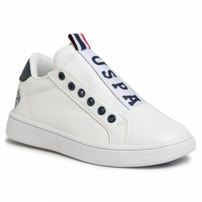 Sneakersy U.S. POLO ASSN. - Asher Club ECROK4060S0/Y1 Whi