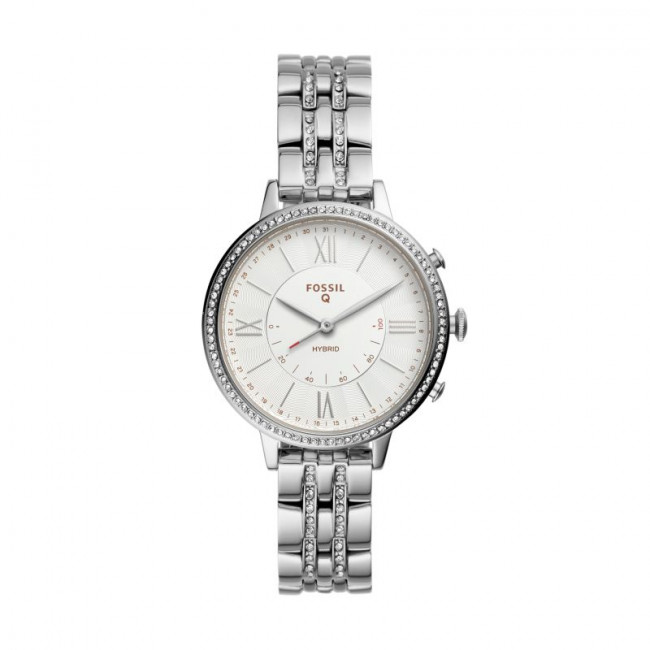 Smart hodinky FOSSIL - Jacqueline FTW5033 Silver/Silver