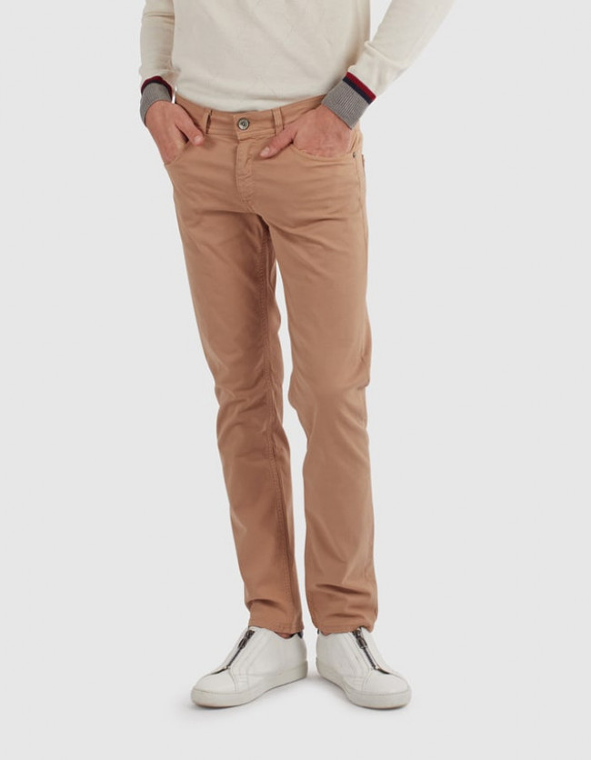 Džínsy La Martina Pant Cotton Twill Stretch Twil
