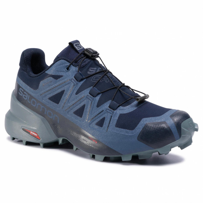 Topánky SALOMON - Speedcross 5 Gtx GORE-TEX 407963 27 V0 Navy Blazer/Stormy Weather/Sargasso Sea