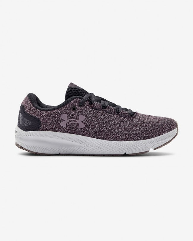 Under Armour Charged Pursuit 2 Twist Running Tenisky Fialová