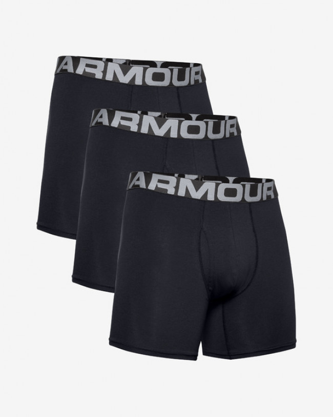 "Under Armour Charged Cotton® 6"" Boxerky 3 ks Čierna"