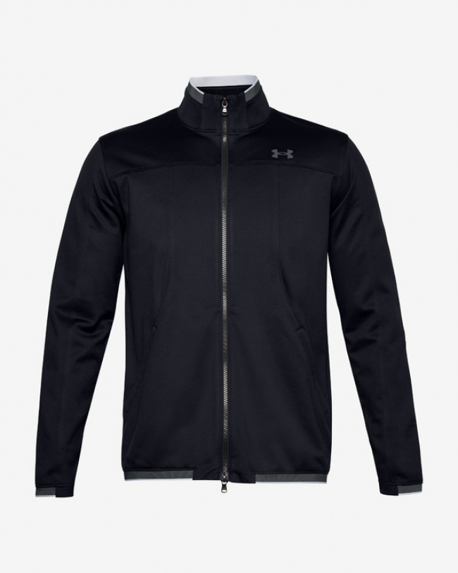 Under Armour RECOVER™ Knit Track Bunda Čierna
