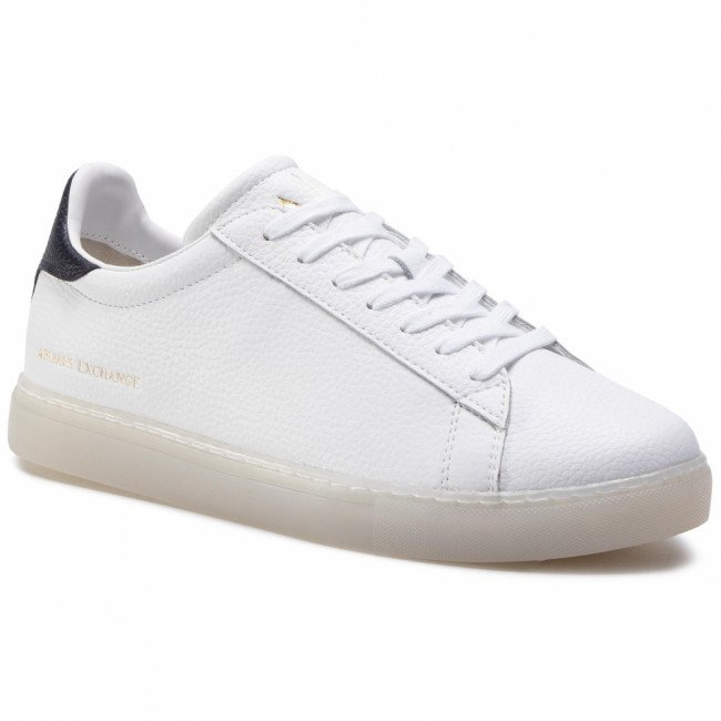 Sneakersy ARMANI EXCHANGE - XUX001 XV248 B139 Op.White/Navy