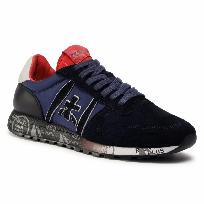 Sneakersy PREMIATA - Eric 4945  Blue/Red