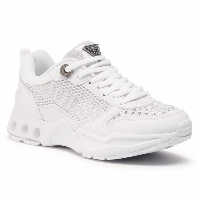 Sneakersy GUESS - FL6TYA FAB12 WHITE