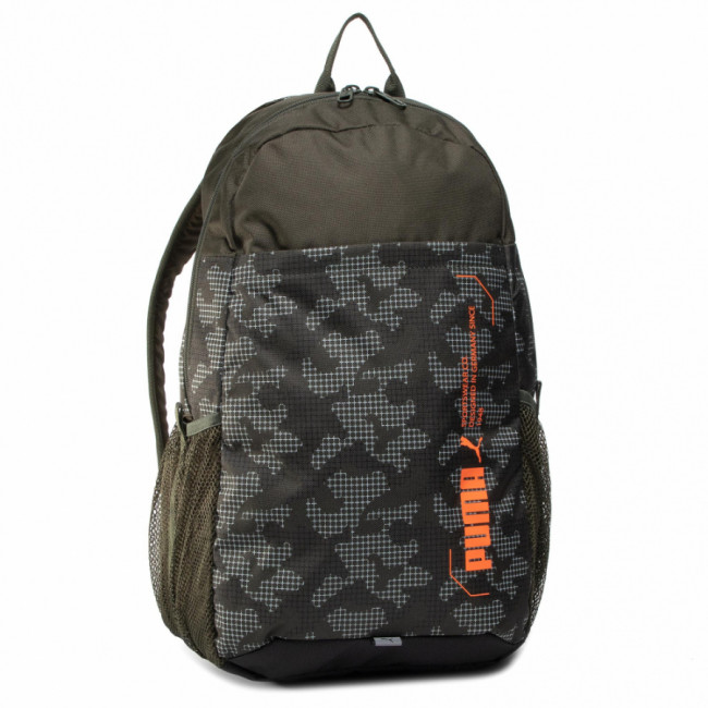 Ruksak PUMA - Style Backpack 076703 07 Forest Night/Camo Aop