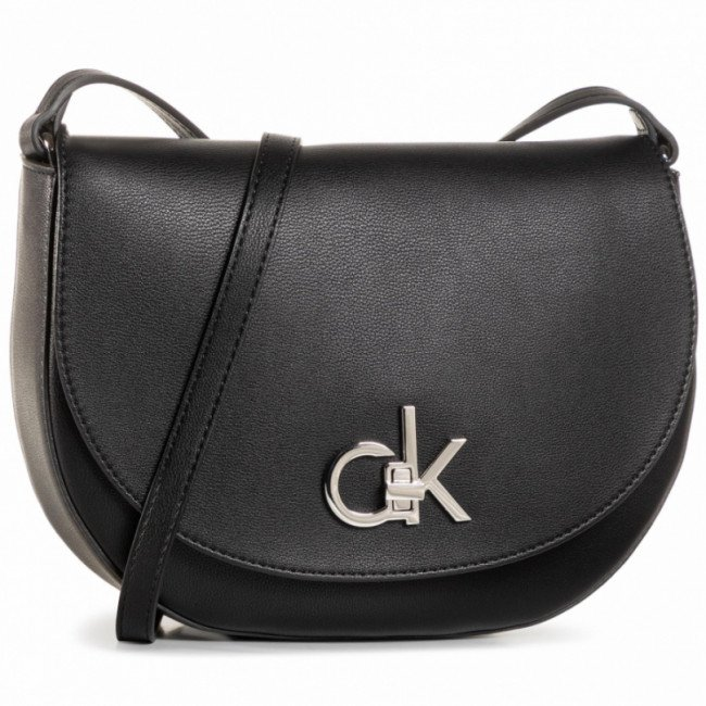 Kabelka CALVIN KLEIN - Re-Lock Saddle Bag K60K606678 BAX