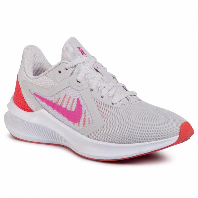 Topánky NIKE - Downshifter 10 CI9984 002 Vast Grey/Fire Pink/Ember Glow
