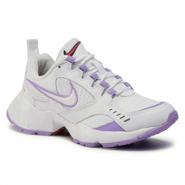 Topánky NIKE - Air Heights CI0603 100 White/White/Noble Red