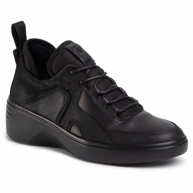 Sneakersy ECCO - Soft 7 Wedge W 47092351052 Black/Black
