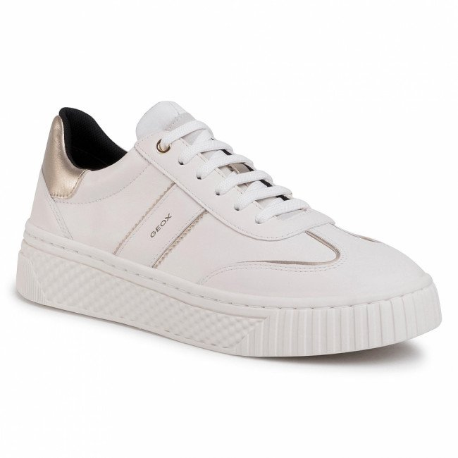 Sneakersy GEOX - D Licena B D04HSB 085NF C1002 Off White