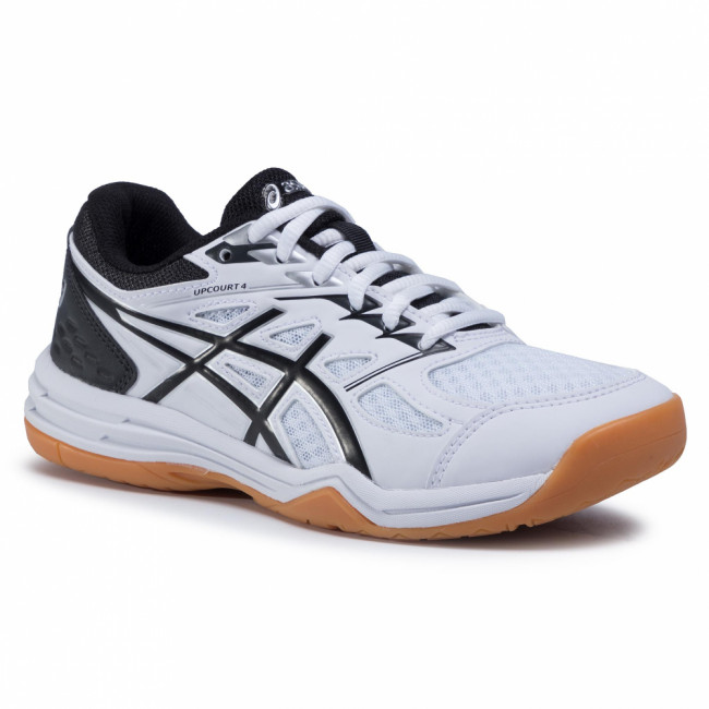 Topánky ASICS - Upcourt 4 Gs 1074A027 White/Black 100