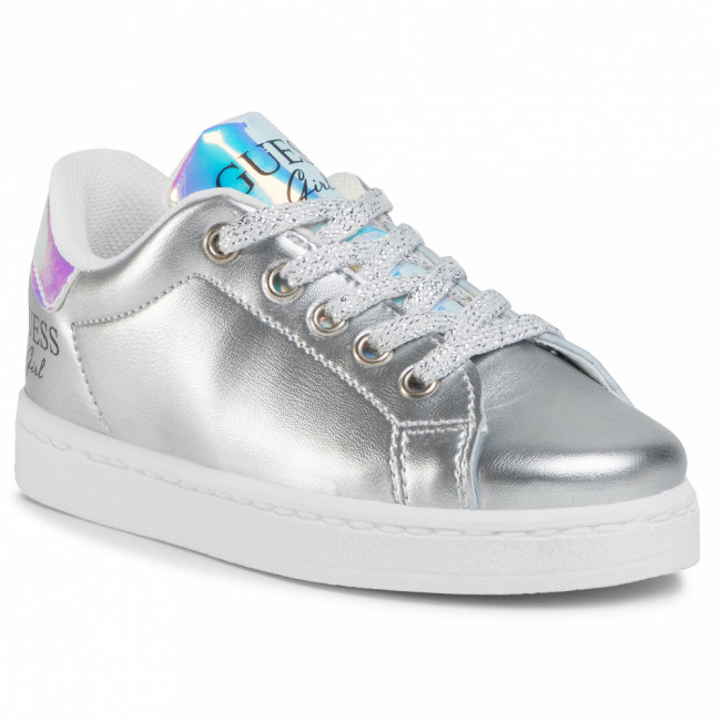 Sneakersy GUESS - Lucy FI7LUC ELE12 SILVE
