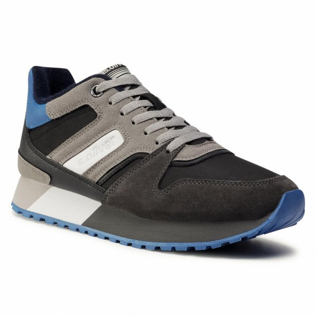 Sneakersy S.OLIVER - 5-15204-25 Lt.Grey Comb 217