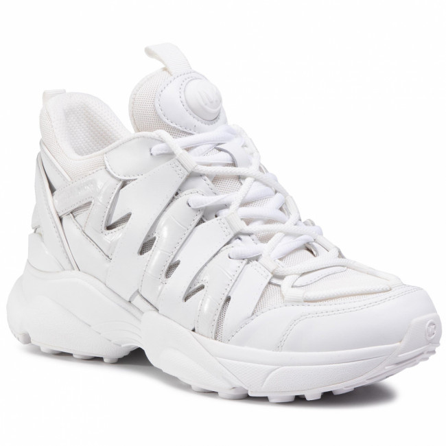 Sneakersy MICHAEL MICHAEL KORS - Hero Trainer 43T0HRFS2D Optic White