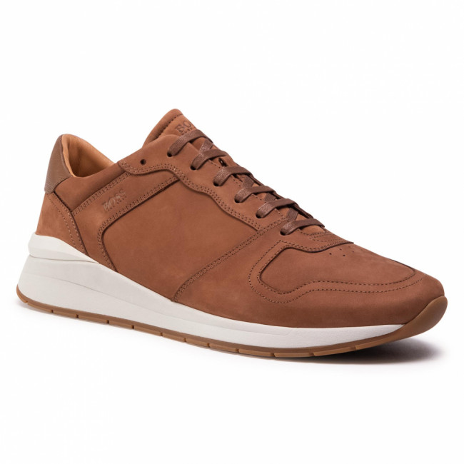 Sneakersy BOSS - Element 50432832 10227353 01 Medium Brown 219