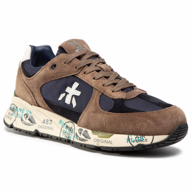 Sneakersy PREMIATA - Mase 4982 Brown/Blue