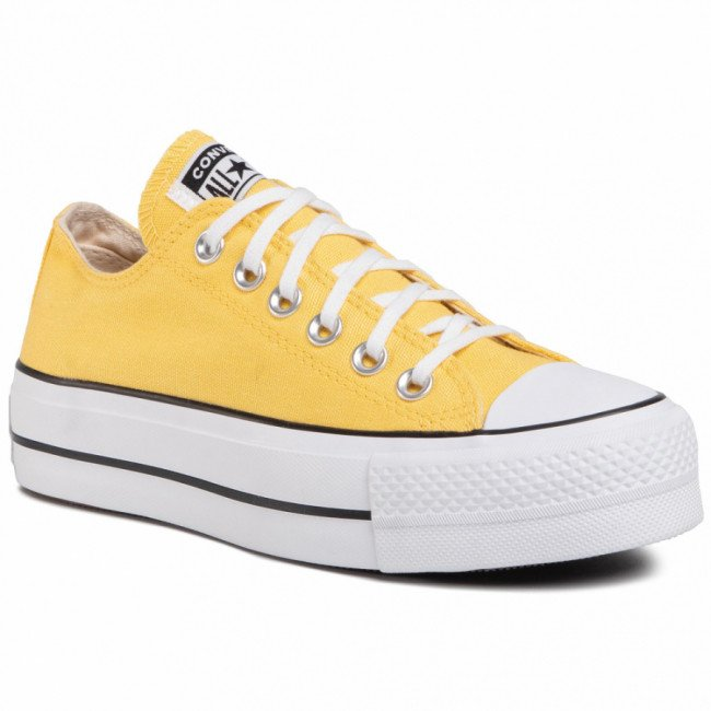 Tramky CONVERSE - Ctas Lift Ox 568627C Butter Yellow/White/Black