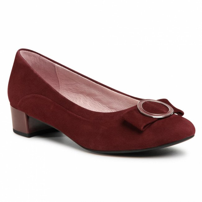Poltopánky CAPRICE - 9-22302-25  Wine Suede 535