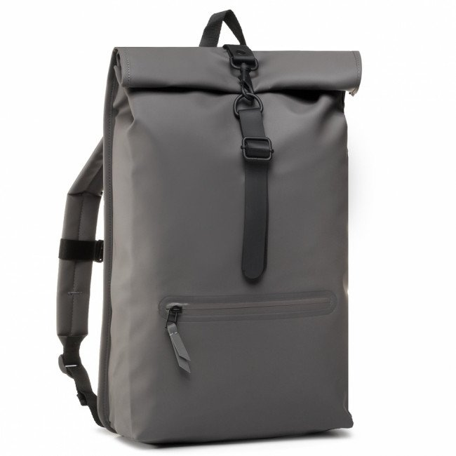 Ruksak RAINS - Roll Top Rucksack 1316 Charcoal
