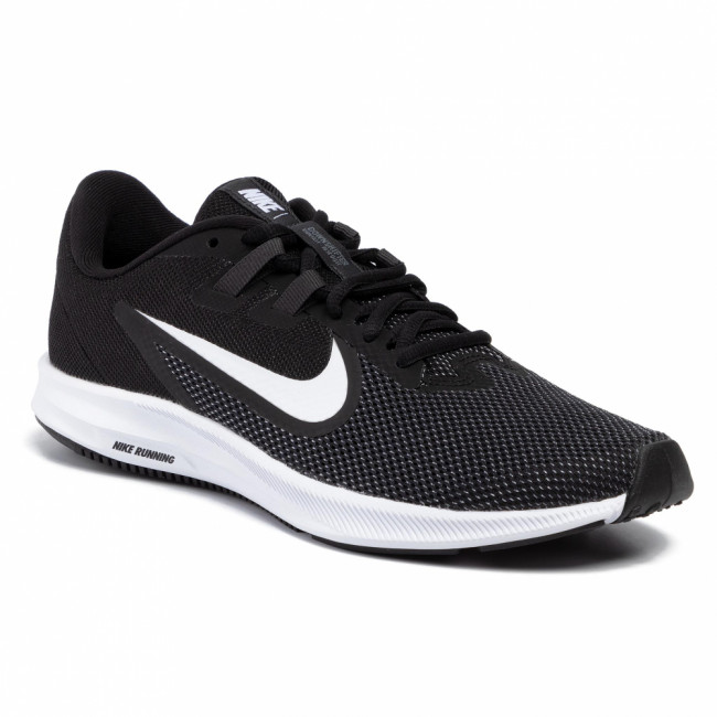 Topánky NIKE - Downshifter 9 AQ7481 002 Black/White/Anthracite