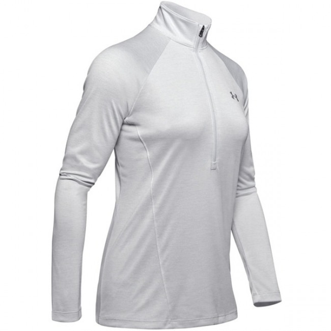 Tričko Under Armour Tech 1/2 Zip - Twist-Gry
