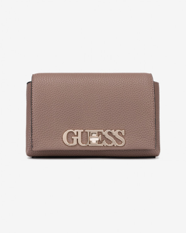 Guess Uptown Chic Mini Cross body bag Hnedá