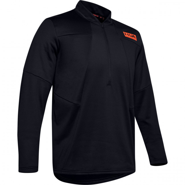 Mikina Under Armour Gametime Fleece 1/2 Zip-Blk