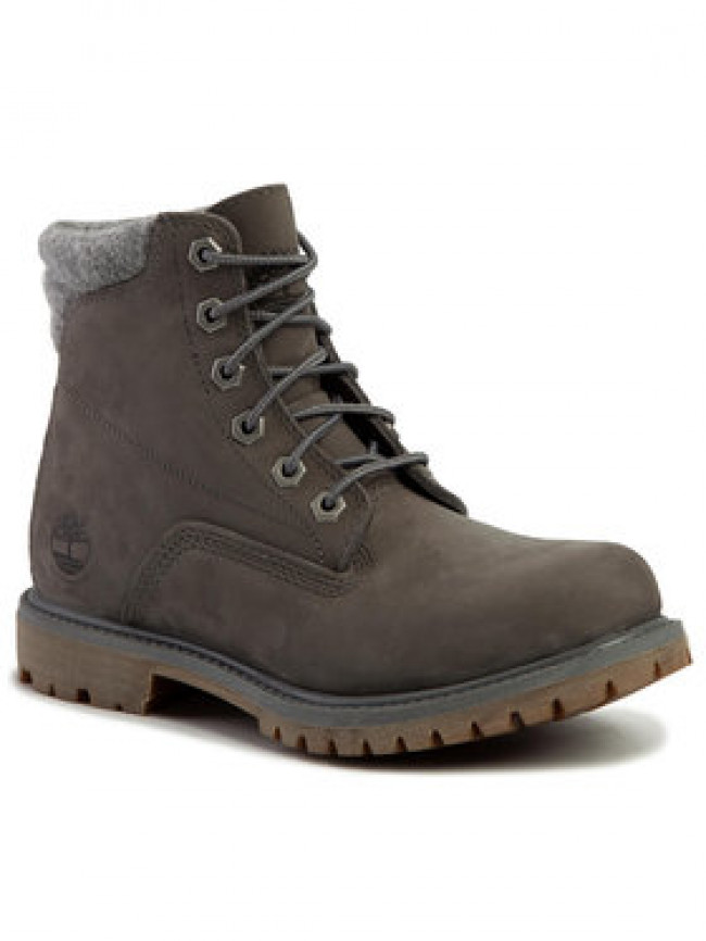 Timberland Outdoorová obuv Waterville 6 In Waterproof Boot TB0A23JV0331 Sivá