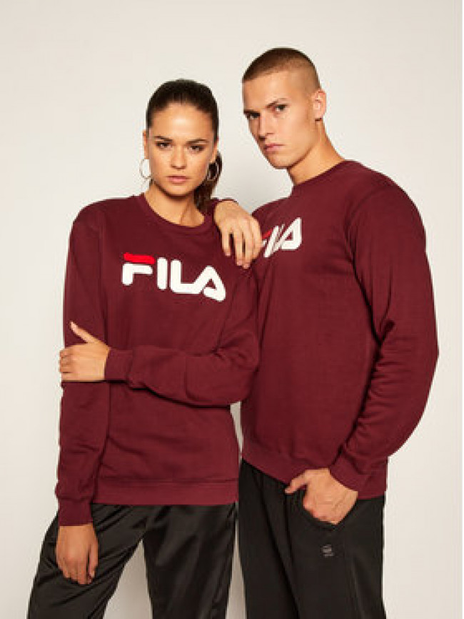 Fila Mikina Unisex 681091 Bordová Regular Fit