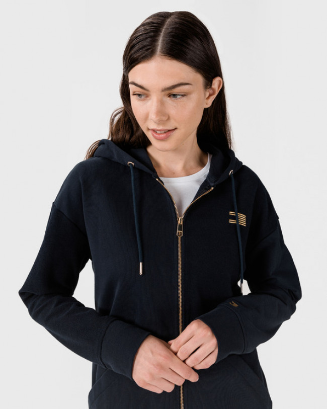 Tommy Hilfiger Icon Relaxed Mikina Modrá