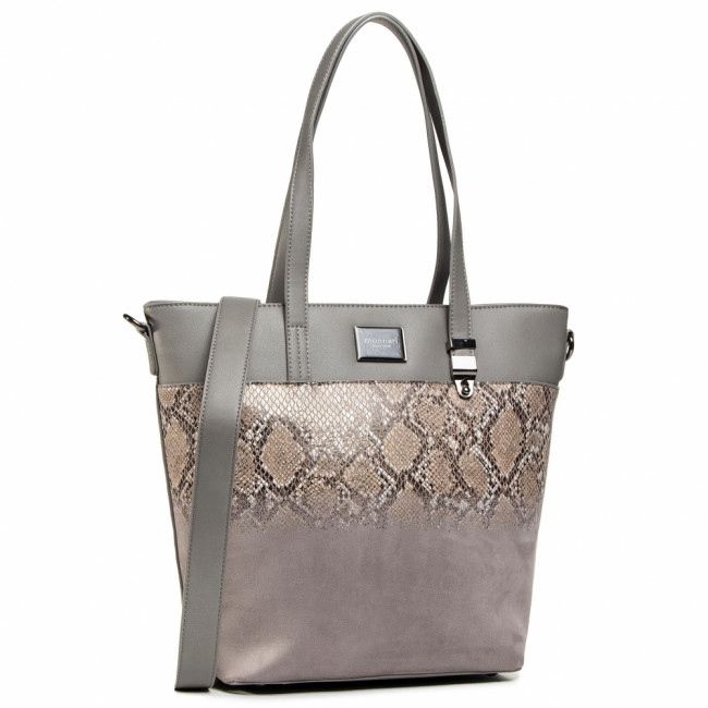 Kabelka MONNARI - BAG5230-M13 Grey With Pattern 2020