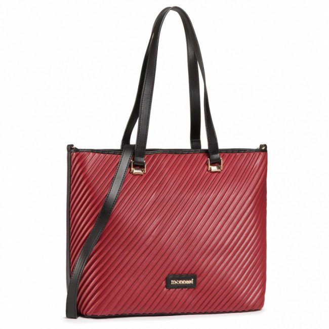 Kabelka MONNARI - BAG8030-M05 Black With Red