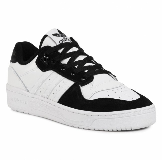 Topánky adidas - Rivalry Low FW2747  Ftwwht/Cblack/Ftwwht