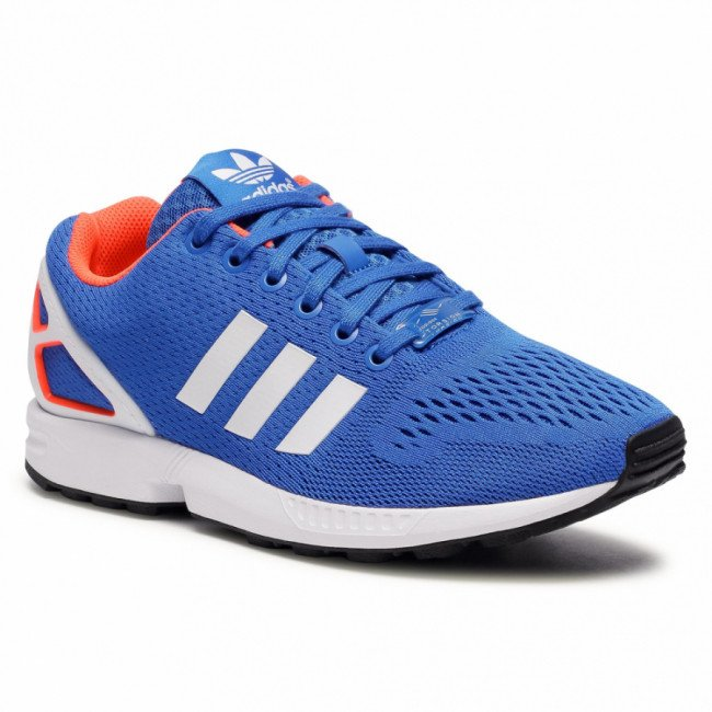Topánky adidas - Zx Flux FW0028 Blue/Ftwwht/Solred