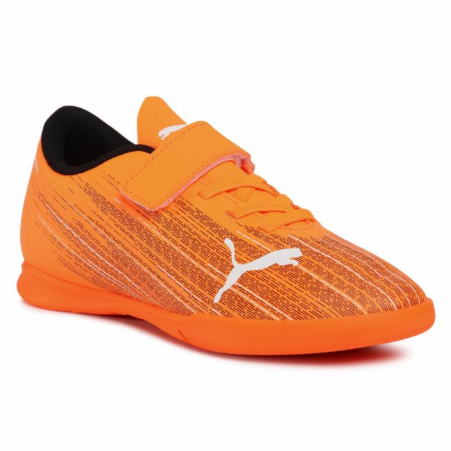 Topánky PUMA -  Ultra 4.1 It V Jr 106225 01 Shocking Orange/Puma Black