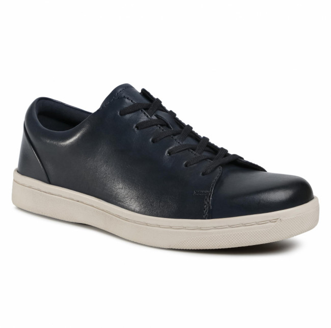 Sneakersy CLARKS - Kitna Lo 261533737  Navy Leather