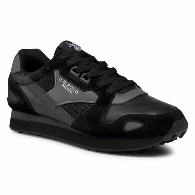 Sneakersy U.S. POLO ASSN. - Justin1 FLASH4117S0/SL1 Blk
