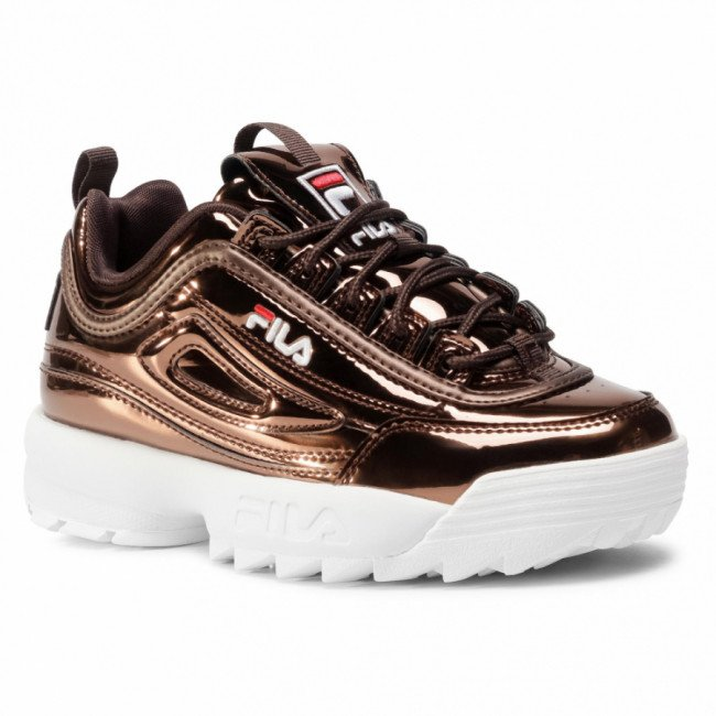 Sneakersy FILA - Disruptor F Low Wmn 1011019.31A Chocolate Brown